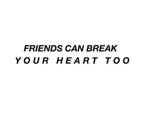 quotes, friends, and heart image