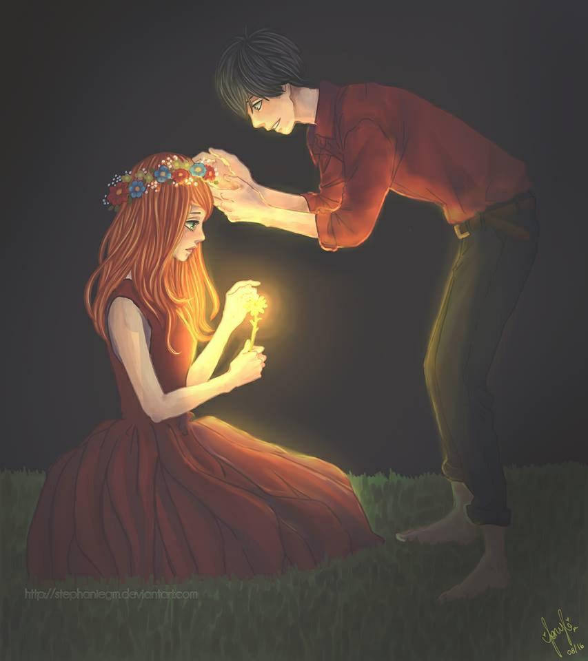 couple and orange image