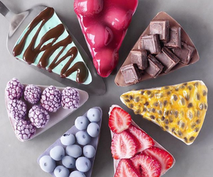 cakes, sweets, and colorful image