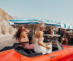 roadtrip, travel, and friends image