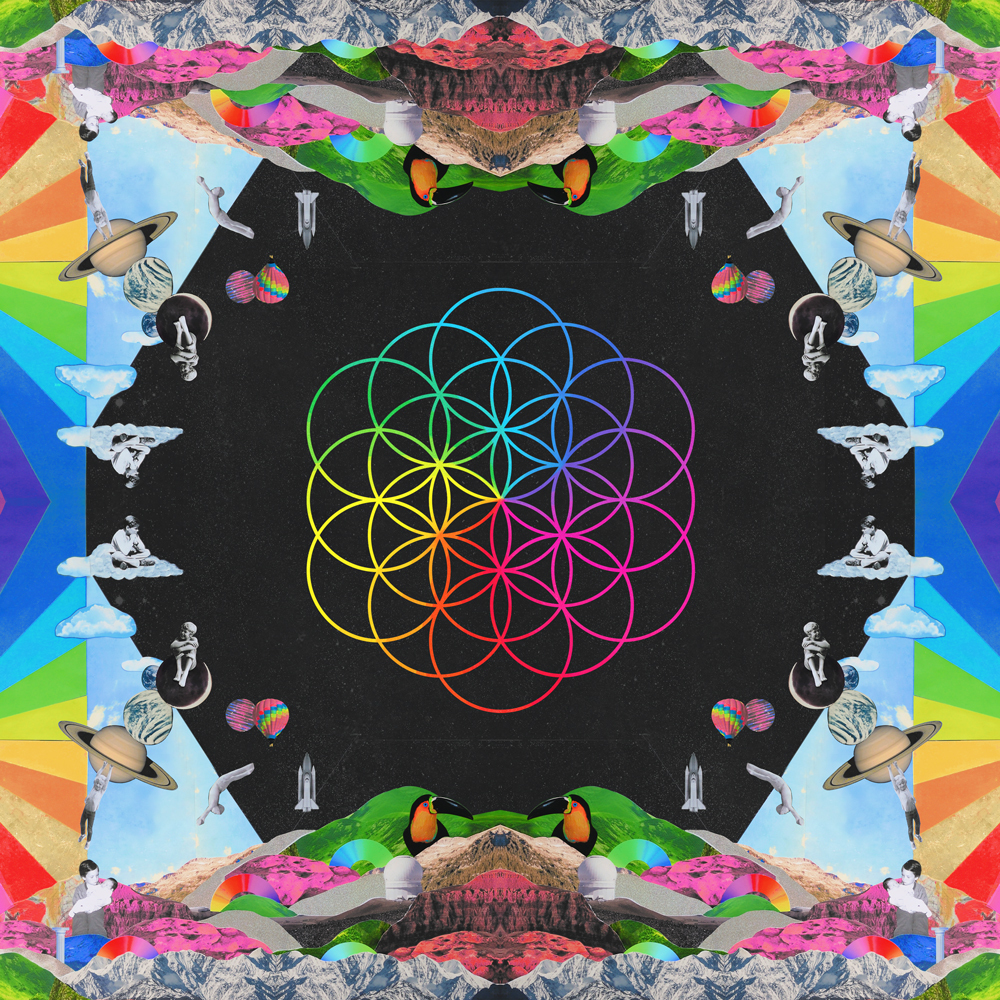 coldplay, a head full of dreams, and album image