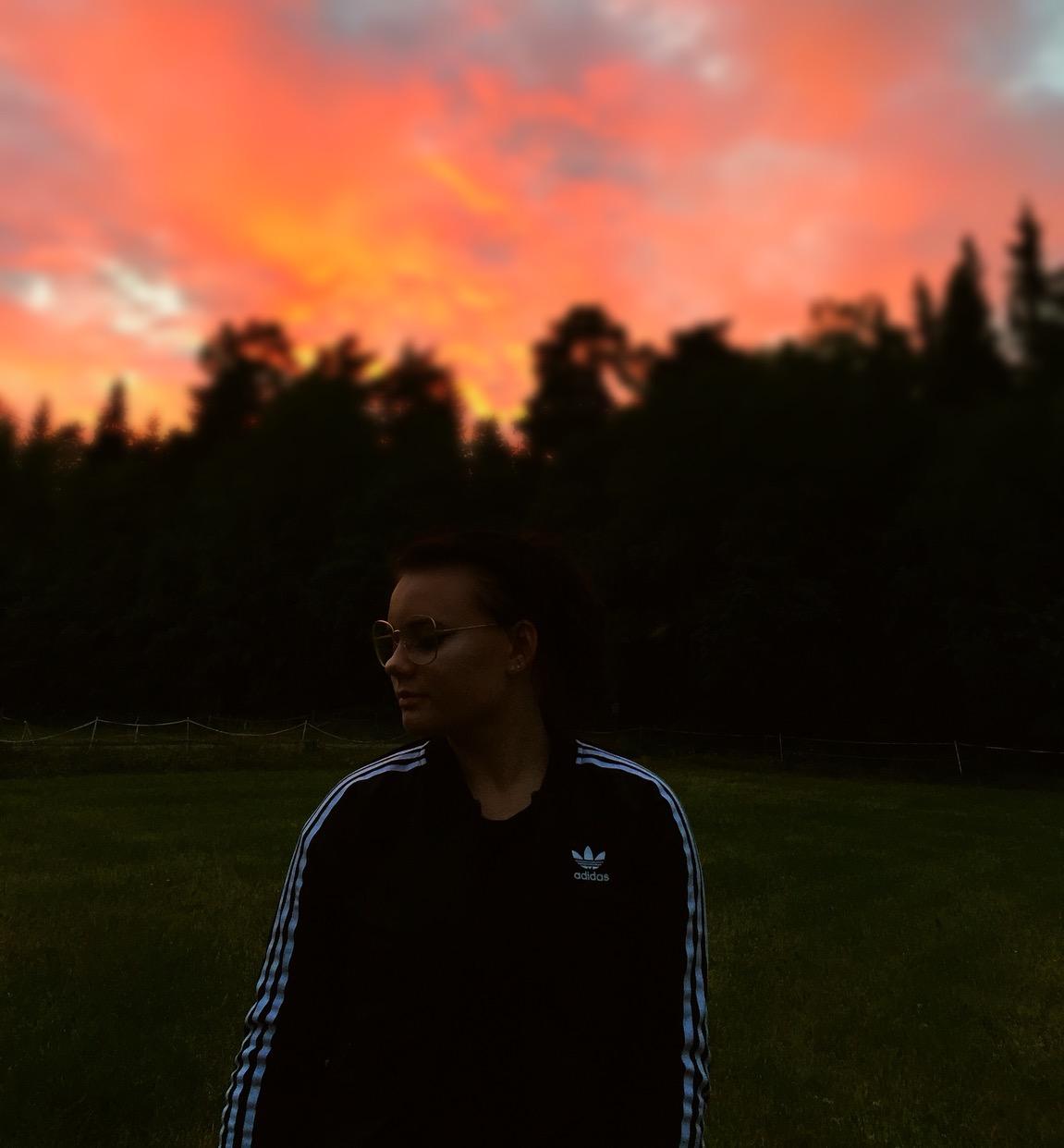adventure, sunset, and wanderlust image