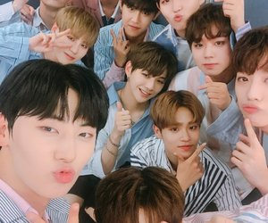 wanna one, park jihoon, and lee daehwi image