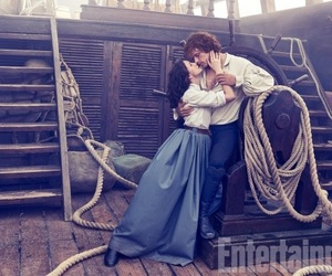 outlander, sam heughan, and jamie fraser image