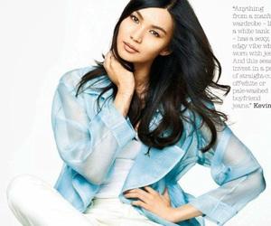 magazine, model, and gemma chan image