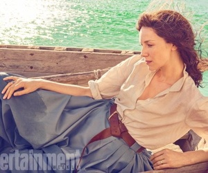 outlander, claire fraser, and caitriona balfe image