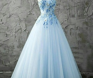 dress, wedding, and snow white image