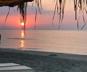 summer, sunrise, and românia image