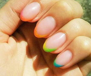 color, happy, and nail image