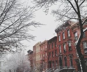christmas, january, and snow image