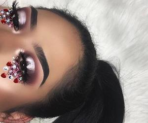beauty, eyebrows, and inspiration image