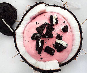 oreo, food, and coconut image