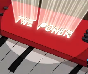 the power and regular show image