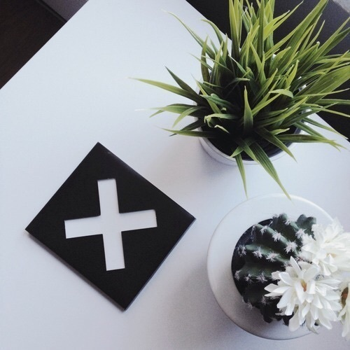 aesthetic, leaves, and black image