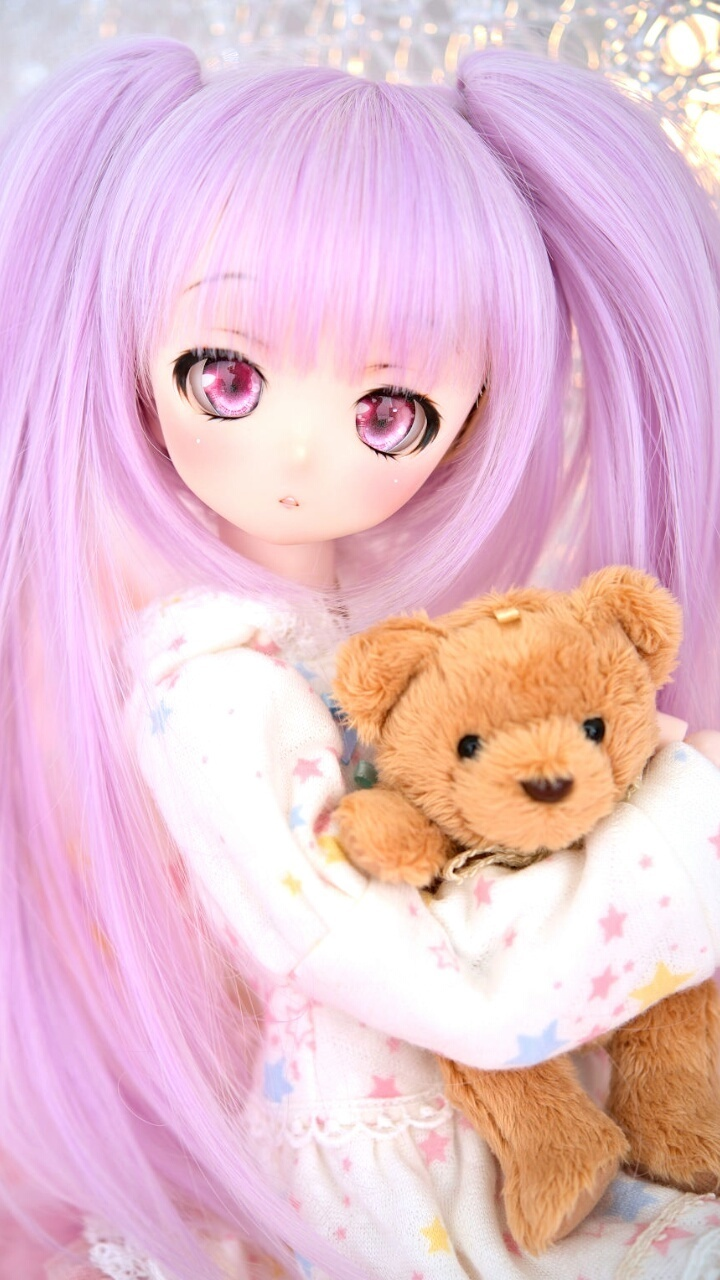 Accessories Anime Art Baby Background Beautiful Beauty Bjd Cat Color Colorful Design Doll Fashion Fashionable Girl Girly Hair Inspiration Kawaii Luxury Make Up Makeup Pretty Purple Wallpaper Wallpapers We Heart It Woman