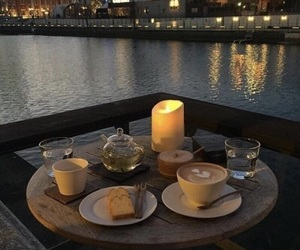 romantic and food image