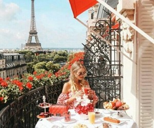 paris, pretty, and summer image