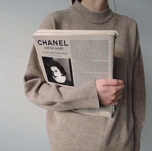 chanel, fashion, and vintage image