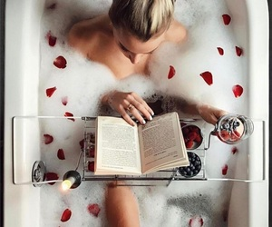 fashion, love, and bath image