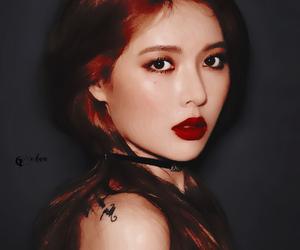 asian girls, hyuna, and ehwa image
