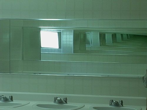 mirrors and bipolar image