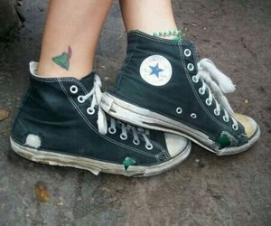 peter pan, converse, and shoes image