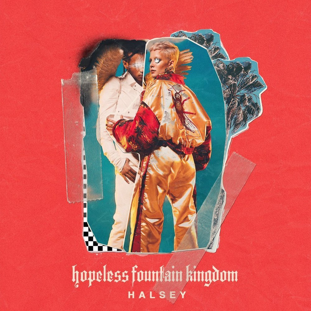 halsey, hopeless fountain kingdom, and hfk image