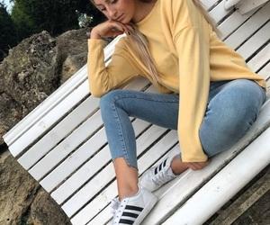 adidas, beach, and fashion image