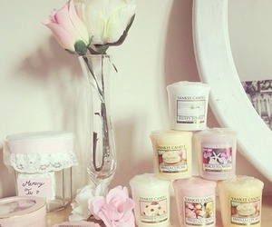 bedroom, candle, and cute image