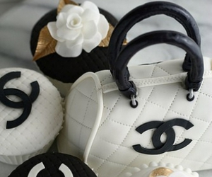 chanel, cupcake, and bag image