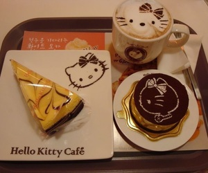 hello kitty and hello kitty cafe image