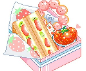 pixels, food, and png image