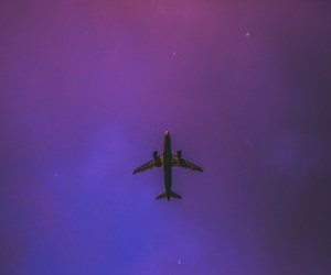 airplane, beautiful, and color image