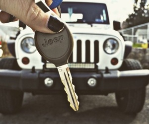 goals, jeep, and key image