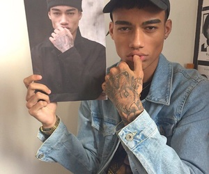 boy, tattoo, and model image