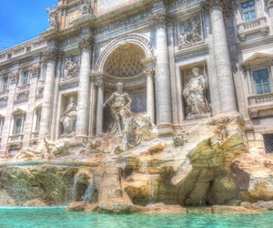 article, fountain, and italy image