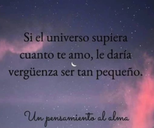 frases, love, and universo image