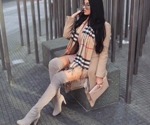 boots, pretty stylish glam, and chic classy luxury image