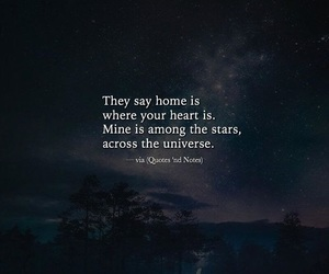 heart, home, and stars image