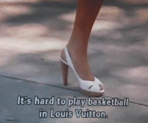 Louis Vuitton, quotes, and heels image