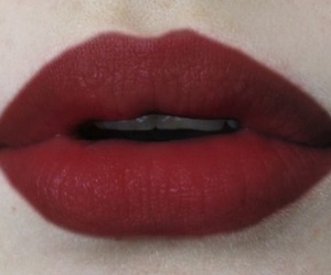 lips, red, and red lips image