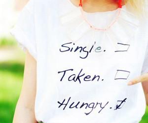 fashion, hungry, and single image