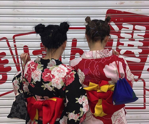 aesthetic, girls, and japan image