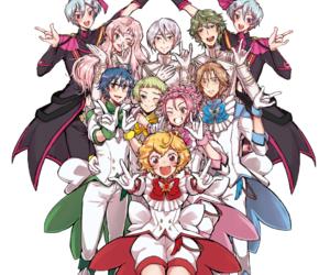 anime, magical boys, and boueibu image