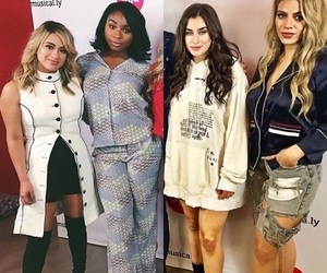 girl, ally brooke, and lauren jauregui image