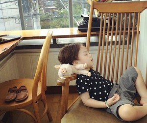 baby, korean baby, and jhanuul image