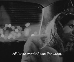quote, marina and the diamonds, and black and white image