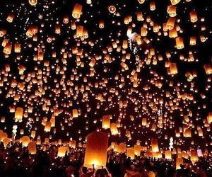 beautiful, lanterns, and rapunzel image