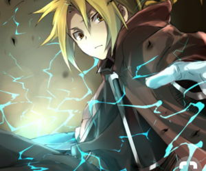 anime, fullmetal alchemist, and edward elric image