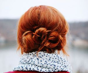 braid, buns, and ginger image